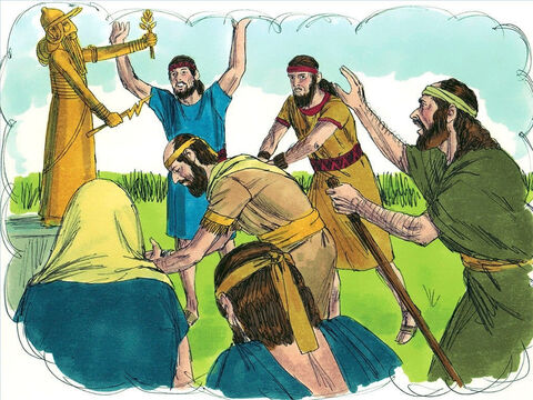 For many years the Lord has sent His prophets, to warn Israel saying, 'Give up your evil ways and obey the Lord.' But the Israelites had refused to listen. – Slide 16