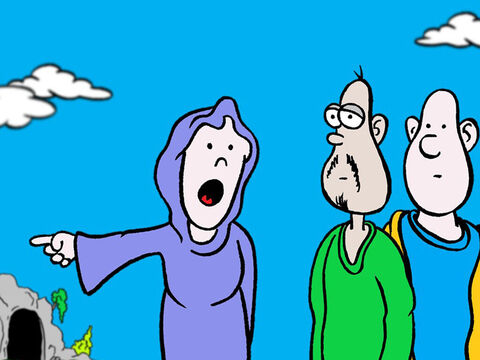 'They have taken the Lord out of the tomb,' she gasped, 'and we don't know where they have put Him!' – Slide 5