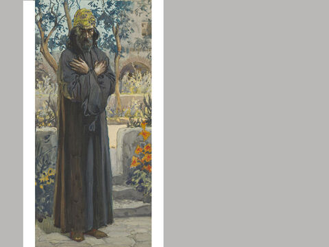 Joel. <br/>James Tissot (1836-1902) – The Jewish Museum, New York. <br/>Joel isn't mentioned anywhere else in the Old Testament, so we don't know much about him. His book shows he was a powerful and effective preacher. His writings are probably set in the same period as Hosea and Amos. – Slide 3