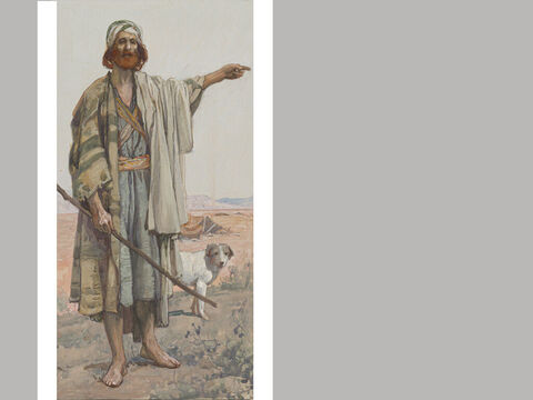 Amos. <br/>James Tissot (1836-1902) – The Jewish Museum, New York. <br/>Amos was a shepherd and sycamore fig farmer from Tekoa, a village about ten miles south of Jerusalem. – Slide 5