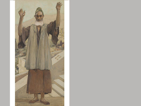 Habukkuk. James Tissot (1836-1902) – The Jewish Museum, New York. <br/>Habakkuk was active prior to the reforms of Josiah and during his reign. – Slide 15