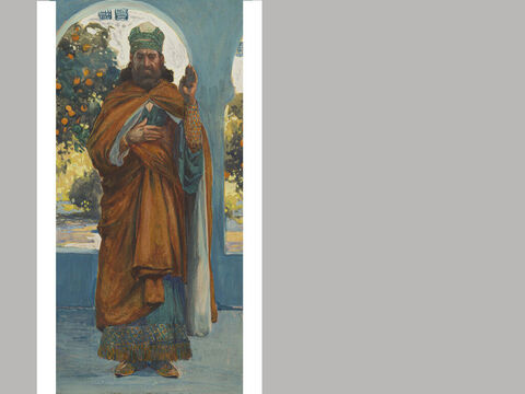 Haggai. <br/>James Tissot (1836-1902) – The Jewish Museum, New York. <br/>Haggai was a contempo-rary of Zechariah, and through their combined ministry the temple of the Lord was rebuilt in Jeru-salem. – Slide 19