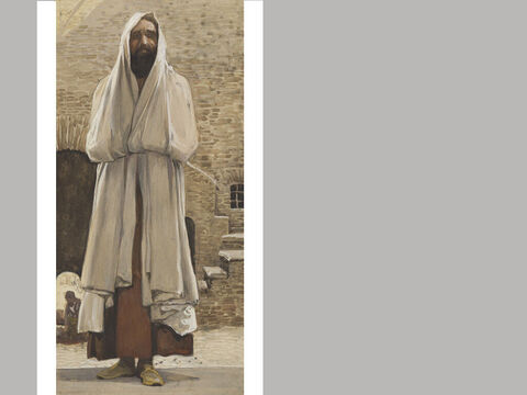 Malachi. <br/>James Tissot (1836-1902) – The Jewish Museum, New York. <br/>In the entire Old Testament, the name Malachi only appears in the title verse of this book (1:1). The name can be translated as 'my messenger' or 'my angel.' – Slide 23