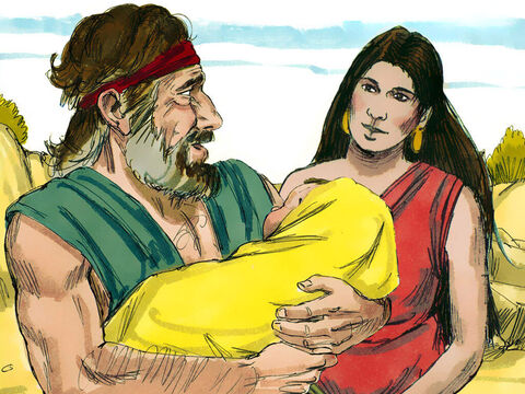 Eventually Jacob and Rachel had a son who was named Joseph. – Slide 1