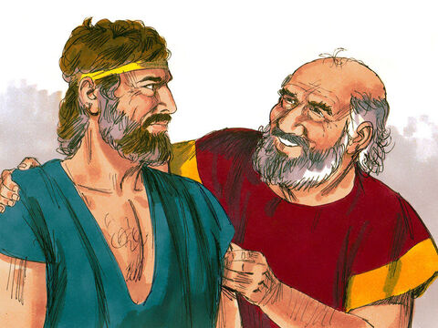 Jacob told Laban that he wanted to return to his homeland of Canaan. Laban knew Jacob had done a great job looking after his sheep and cattle and did not want to lose him. 'Name your wages, and I will pay them,' he replied. – Slide 2