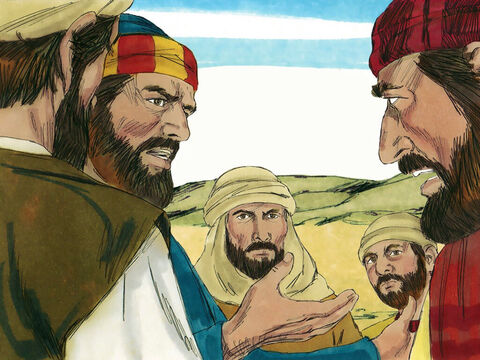 When the ten other disciples heard what James and John had asked, they were furious. – Slide 8