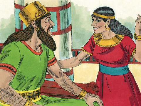 A marriage was arranged between King Ahab's daughter Athaliah and Jehoshaphat's son Jehoram. – Slide 2