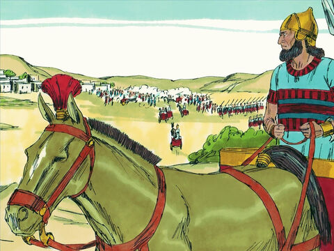 Just as Jeremiah and other prophets had been warning for many years, King Nebuchadnezzar of Babylon invaded Judah and the city of Jerusalem. He took ten thousand captives from Jerusalem, including all the princes and the best of the soldiers, craftsmen, and smiths. So only the poorest and least skilled people were left in the land. – Slide 1