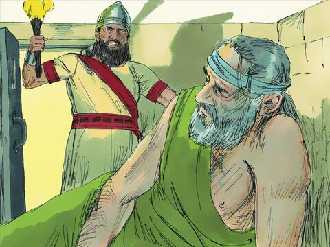 As a result Jeremiah was put in prison. Four of the top officials who had always opposed the prophet, Shephatiah Gedaliah, Jucal and Pashhur wanted him killed. – Slide 7