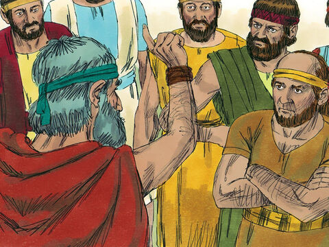 God raised a prophet called Jeremiah to preach that unless they repented and obeyed then God would send the Babylonians to take them as captives. – Slide 3