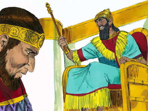 Jehoiakim continued to reign for another three years as a vassal king to the Babylonians. God told Jeremiah to dictate the words of the burnt scroll to Baruch again. A second scroll was written (which is in our Bible today in the Book of Jeremiah). – Slide 20