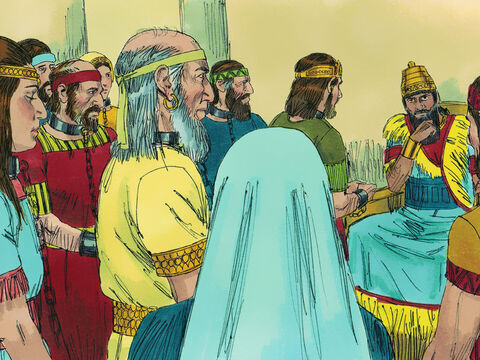 King Nebuchadnezzar took ten thousand captives from Jerusalem, including all the princes and the best of the soldiers, craftsmen, and smiths. So only the poorest and least skilled people were left in the land. – Slide 25