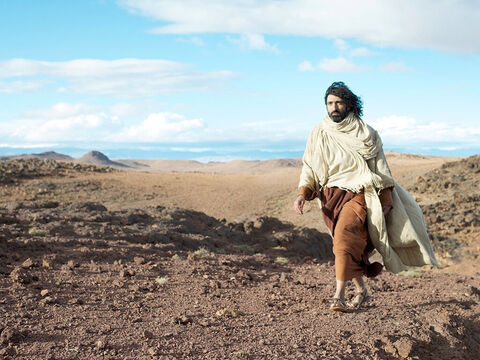 After Jesus had sent the crowds away, He went up on a hillside by himself to pray. – Slide 20