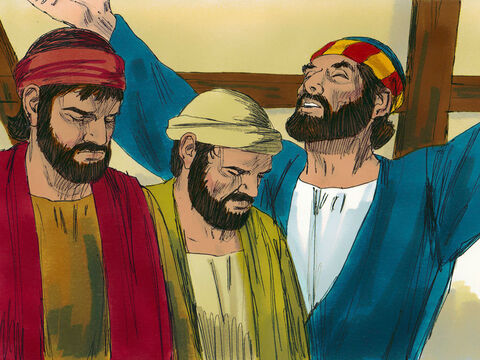They prayed, 'Lord, you know everyone's heart. Show us which of these two you have chosen to take over from Judas.' Then they cast lots. – Slide 10