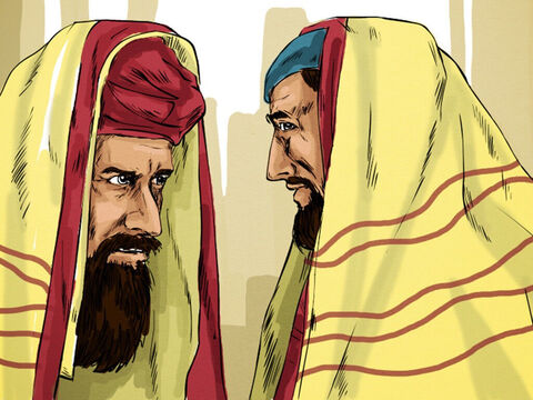 The man went away and told the Jewish leaders that it was Jesus who had made him well. – Slide 8