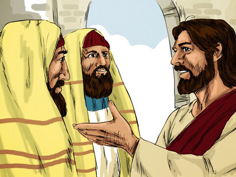 In His defence Jesus said to them, 'My Father is always at His work to this very day, and I too am working.' – Slide 10