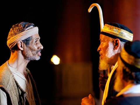 The Pharisees summoned the man again. 'Tell the truth,' they ordered. 'We know the man who did this is a sinner.' 'I don't know whether he is a sinner,' he replied. 'But I do know I was blind but now I can see!' – Slide 18