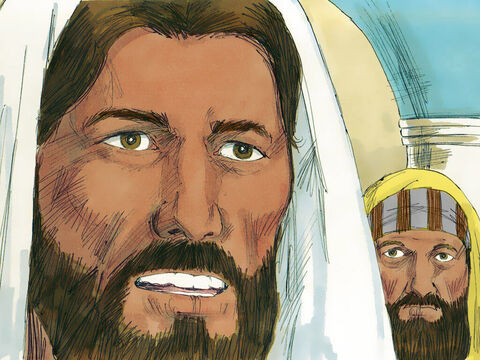 'Be silent,' Jesus commanded. Then He spoke to the demon and ordered, 'Come out!' – Slide 4