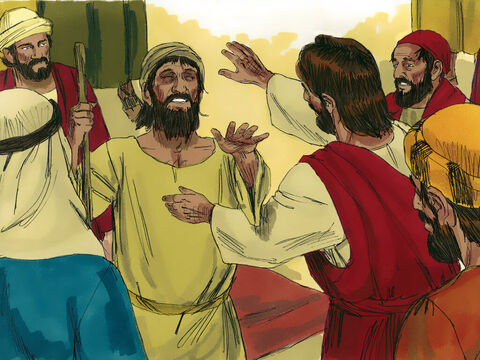 Jesus laid His hands on each one and healed them. Demons came out of many people, shouting, 'You are the Son of God!' Jesus rebuked them and would not allow them to speak, because they knew He was the Messiah. – Slide 10