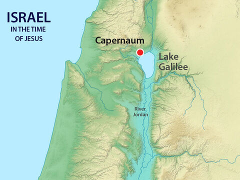 The Centurion and his soldiers were garrisoned just outside Capernaum, the town where Jesus was staying as he taught around Galilee. – Slide 2