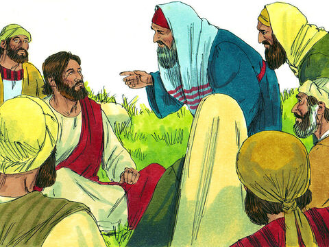 They found Jesus and begged, 'If anyone deserves your help, this Centurion does for he loves the Jewish people and even built a synagogue for us.' – Slide 4