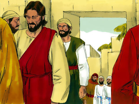 Jesus then left the Temple and returned to Bethany. – Slide 6