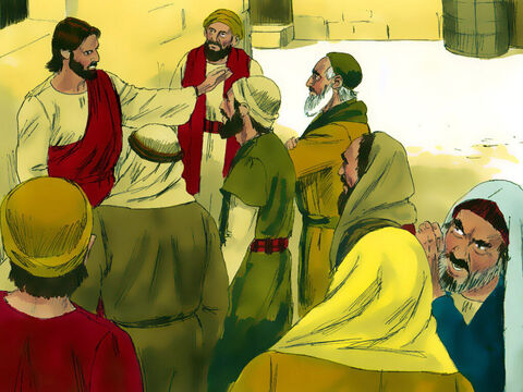 The Chief Priests were alarmed at how popular Jesus was becoming and were scheming to find a way to have Him arrested and killed. – Slide 3