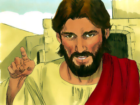 'Give to Caesar the things that are Caesar's,' Jesus replied, 'and give to God the things that are God's.' – Slide 11