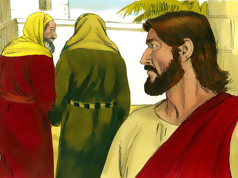 Those listening were astonished by His answer. The Pharisees and supporters of Herod went away frustrated they had failed to trap Jesus. – Slide 12