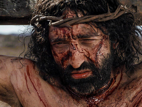 It was 9 o'clock in the morning when Jesus was put on a cross to suffer and die. – Slide 15