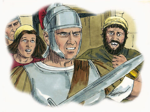 'When you see Jerusalem being surrounded by armies, you will know that its destruction has arrived. If you are in Jerusalem, try to escape to the mountains, and those outside the city must not attempt to return. – Slide 11