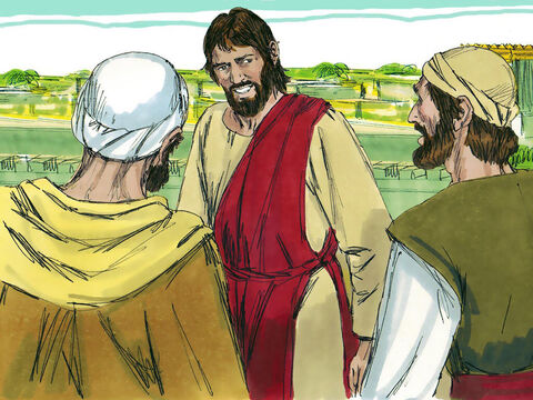 Jesus concluded, 'Watch and pray that you may be able to escape all that is about to happen, and that you may be able to stand before the Son of Man.' – Slide 21