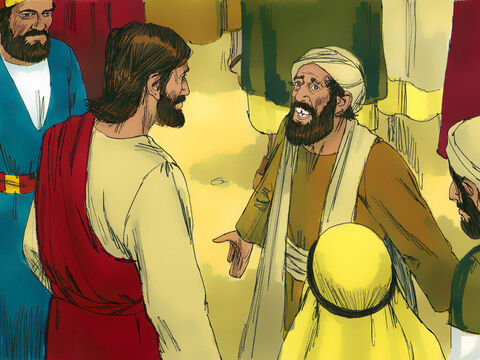 A man in the crowd answered, 'Teacher, I brought you my son, who is possessed by a spirit that has robbed him of speech. – Slide 2