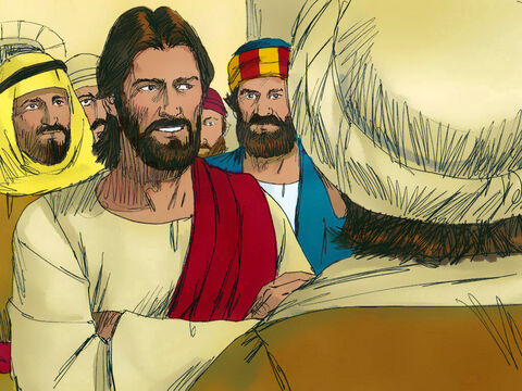 'You unbelieving generation,' Jesus replied, 'how long shall I stay with you? How long shall I put up with you? Bring the boy to me.' The boy was brought to Jesus.  – Slide 4