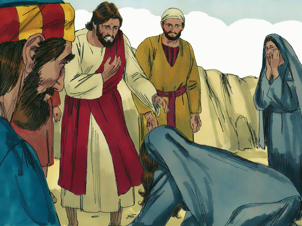 Lazarus Raised from the Dead - Bible Story Verses & Summary