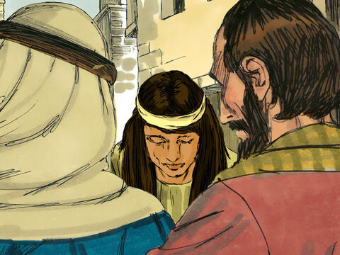The Jewish leaders and Pharisees had been trying to trap Jesus into saying something they could use against Him. They grabbed a woman who had been caught in adultery and dragged her before Jesus and the crowd He was teaching. – Slide 3