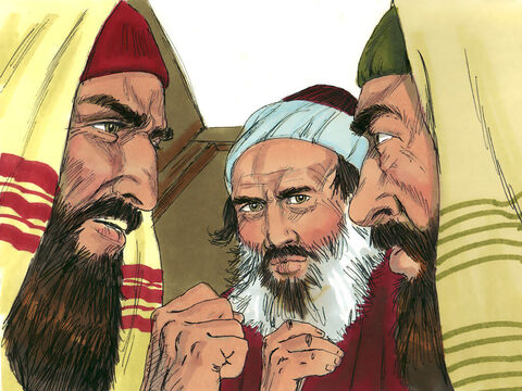 The Jewish leaders and Pharisees wondered what to do. – Slide 6