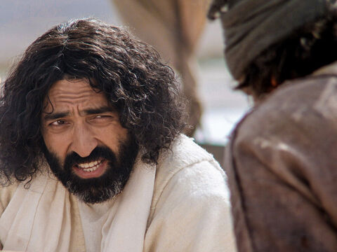 Jesus asked him the same question a third time, 'Simon son of John, do you love me?' – Slide 6