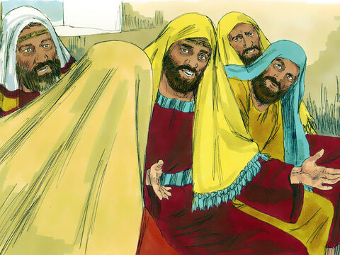 'Isn't this Joseph's son?' they asked. – Slide 6