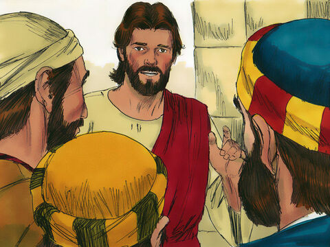 Then Jesus said to His disciples, 'It is hard for someone who is richto enter the kingdom of heaven.It is easier for a camel to go through the eye of a needle than for someone who is rich to enter the kingdom of God.' – Slide 6