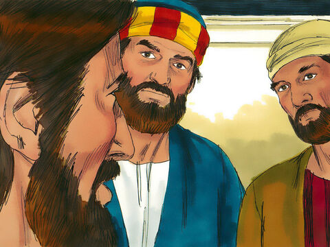 Jesus looked at them and said,'With man this is impossible, but with God all things are possible.' – Slide 8