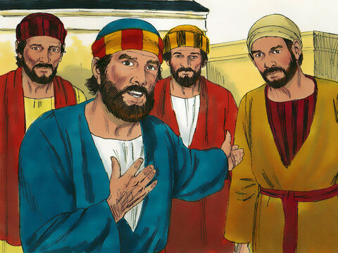 Peter answered Him, 'We have left everything to follow you!What will there be for us?' – Slide 9