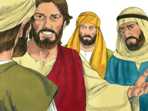Jesus was travelling from Judea back to Galilee and decided to go through the region of Samaria where the Samaritan people lived. The Samaritans were a race of Jews that had in the past inter-married with other races. The Jews did not allow Samaritans to worship with them or have anything to do with them. Jews normally avoided travelling through Samaria. – Slide 1