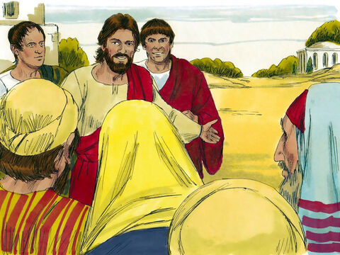 When a Pharisee called Simon invited Jesus to a meal at his home, Jesus accepted the invitation. – Slide 1