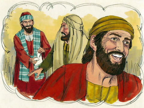So, he kindly forgave them both, letting them keep the money! Which do you suppose loved him most after that?' – Slide 8