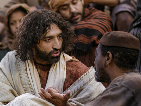 Every day while Jesus was at the feast of the Passover He taught in the Temple courtyard. – Slide 1