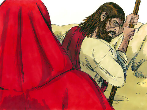 """Jesus answered,'It is written: """"Man shall not live on bread alone, but on every word that comes from the mouth of God.""""' – Slide 3"""
