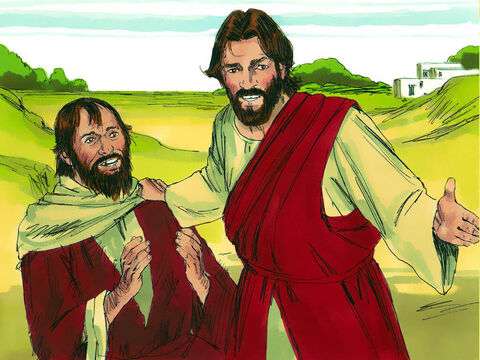 Jesus asked, 'Didn't I heal ten men? Where are the other nine?Has no one returned to give glory to God except this foreigner?' – Slide 5