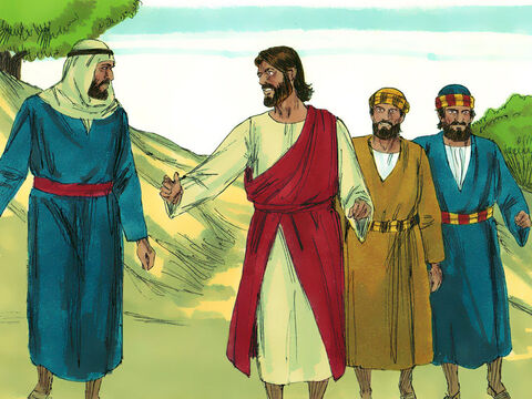As they were coming down the mountain, Jesus gave them orders not to tell anyone what they had seen until He had risen from the dead.They kept the matter to themselves, discussing what 'rising from the dead' meant. – Slide 8