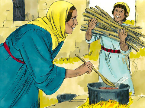 Jesus returned to Nazareth with His parents and was obedient to them. Mary treasured all these things in her heart. – Slide 10